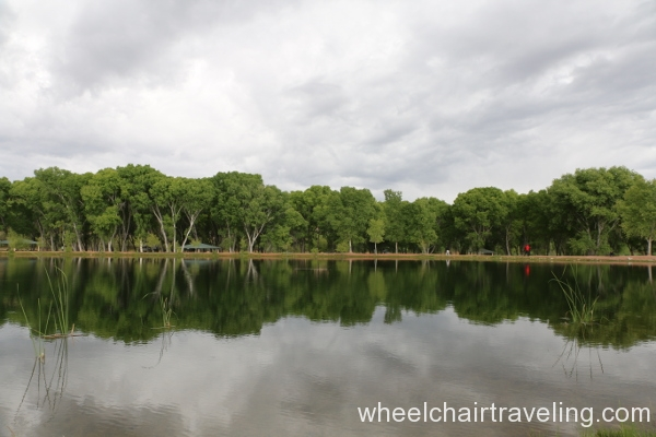 24_Lagoon, picnic area opposite under trees.JPG