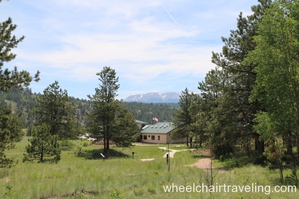 12_View of Visitor Center from Trail