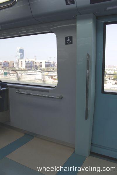 Metro Train Disabled Spot