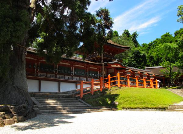Shrine in Nara Park