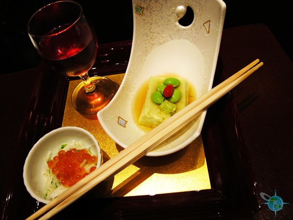1 Course of Fine Dining Japanese Food