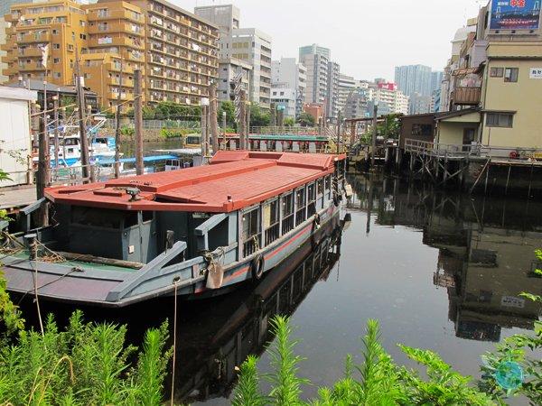Fishing Village of Shinagawa
