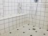 Room #166 Roll-in Shower