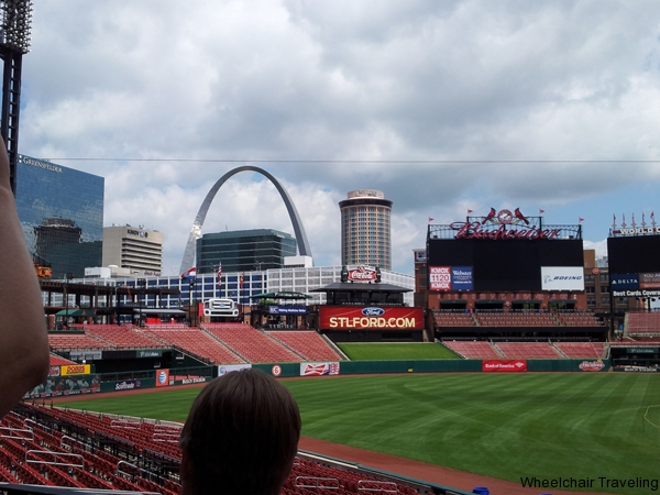 small_View of Arch from inside Busch Stadium