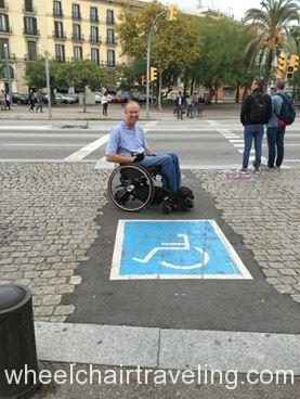 Barcelona Crosswalk