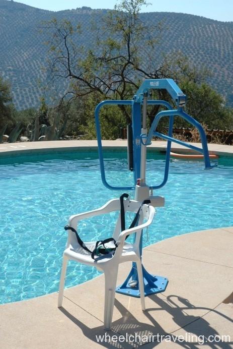 Pool hoist for Ashley