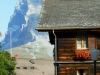 Swiss Mts. and Houses