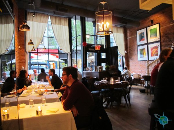 Accessible restaurants in vancouver british columbia