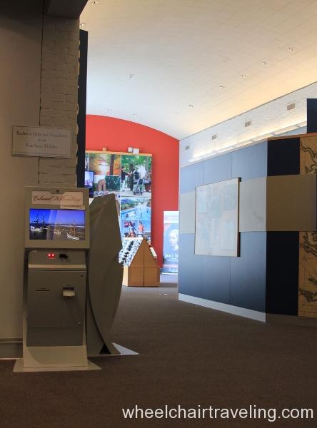04 Ticket Kiosk in Visitor Center