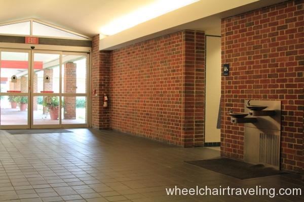 08 Visitor Center Restroom & Fountain