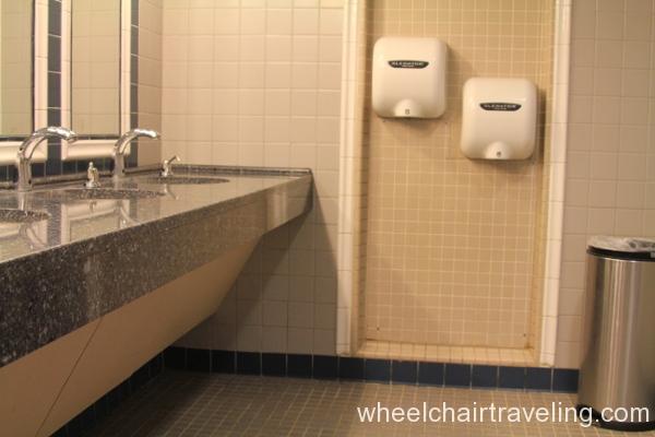 11 Visitor Center Restroom