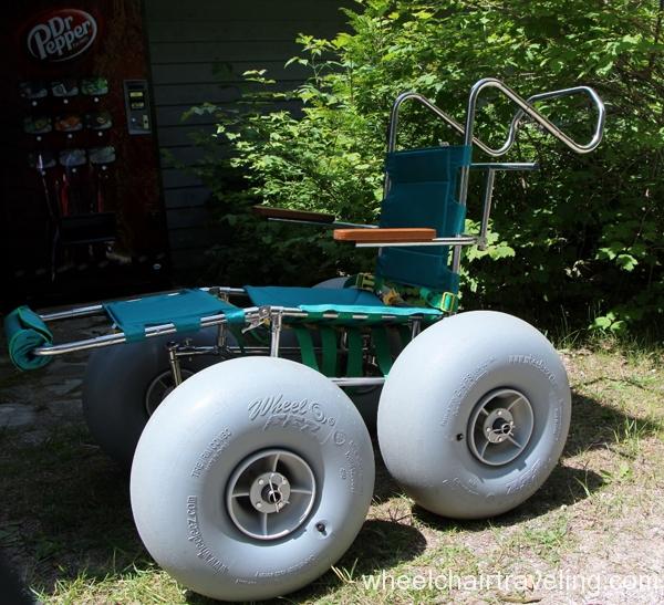 small_Beach Wheelchair - Whitefish Dunes State Park