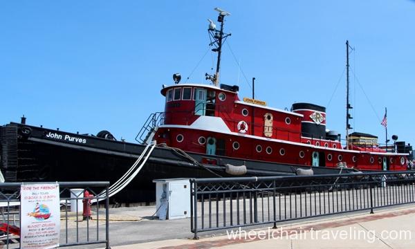 small_John Purves Tugboat - Sturgeon Bay Maritime Museum