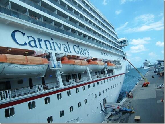 Carnival Glory Cruise Access