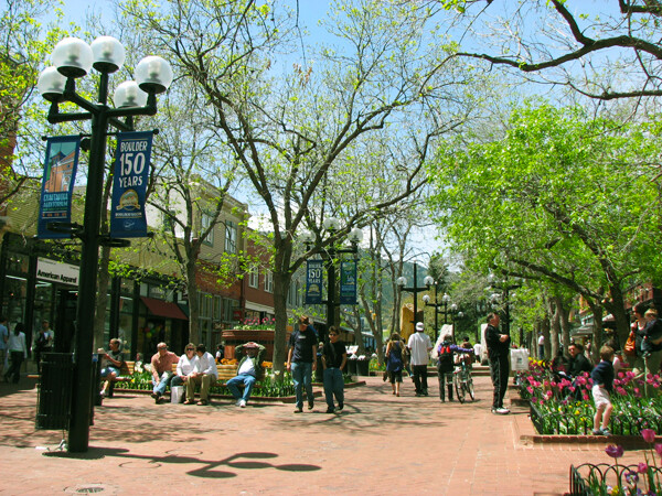 Boudler, CO: Pearl Street Shopping & Dining