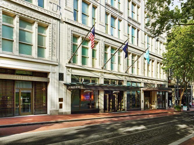 Nines Hotel & Urban Farmer Restaurant in Portland, OR
