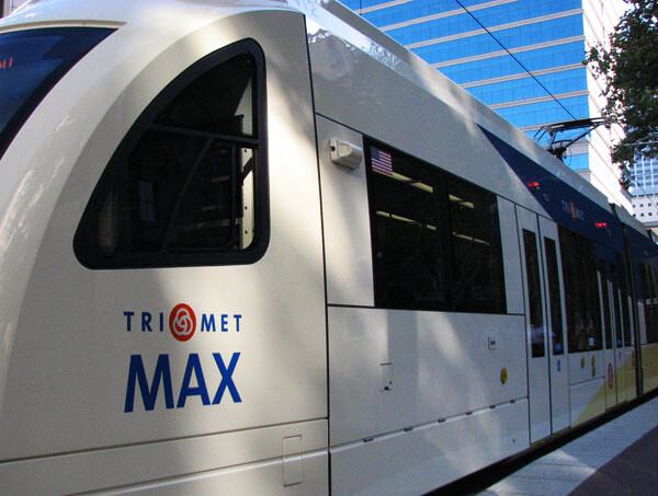 """The TriMet """"MAX"""" in Portland in a Wheelchair"""