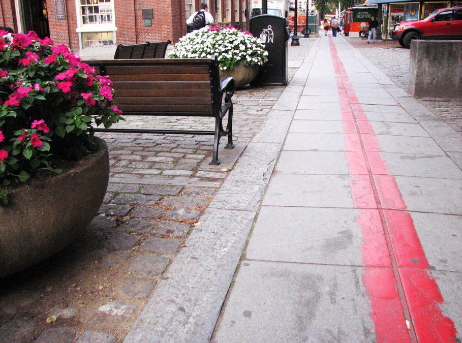 Wheeling the Streets and Sidewalks of Boston, MA
