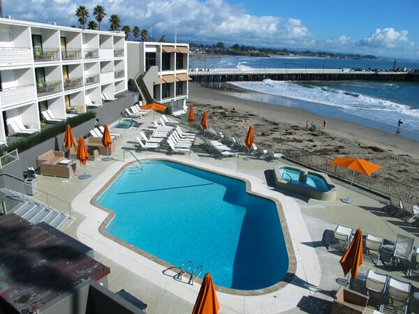 Dream Inn with Ocean View in Santa Cruz, CA