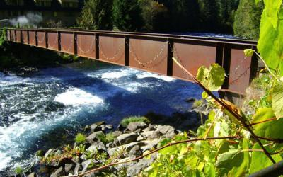 Oregon, McKenzie River: Hot Springs & Gardens