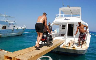 Egypt: Accessible Adapted Scuba Diving