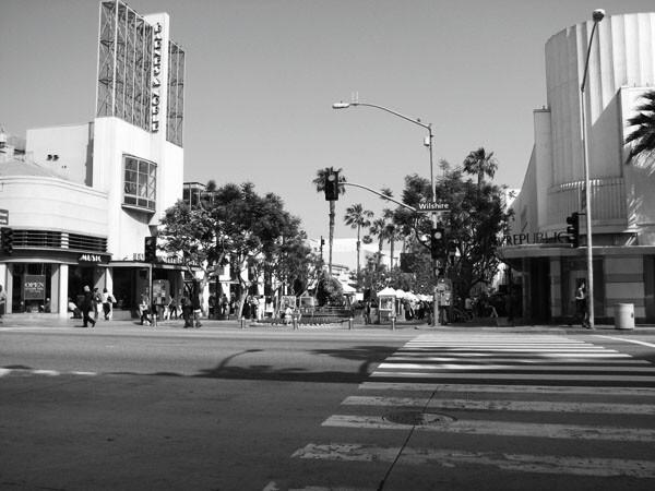 Santa Monica Beach City Access