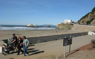 Ocean Beach in San Francisco, CA