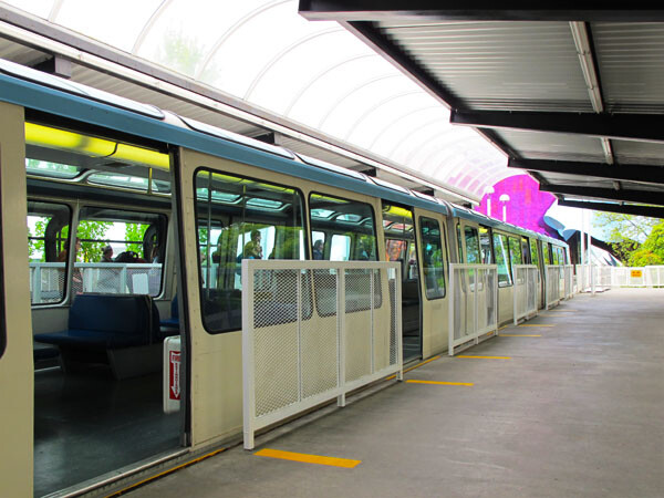 Access The Monorail In Seattle Wheelchairtraveling Com