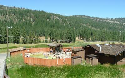 CA State Park: Grover Hot Springs, Sierras
