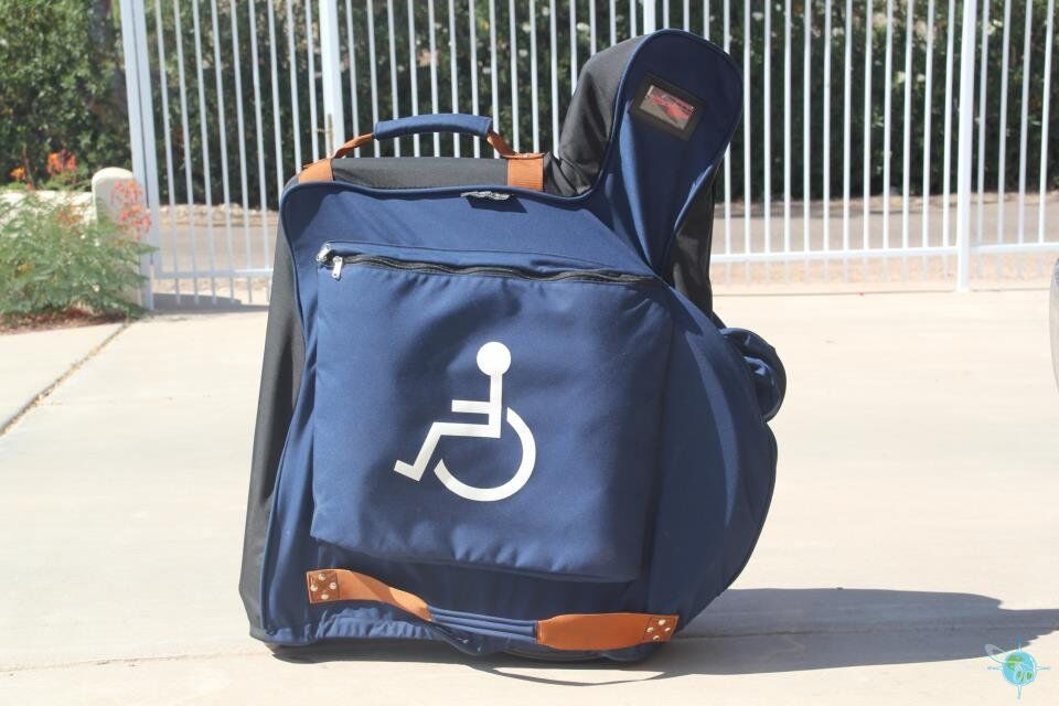 Wheelchair Caddy for Travel