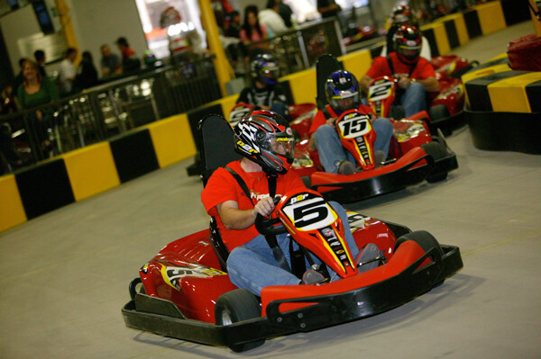 Go-Karts with Hand-Controls