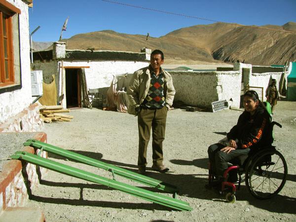 Tour Ladakh, India with a Wheelchair