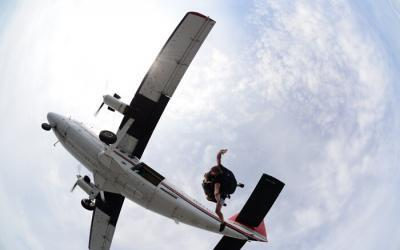Access to Skydiving Wheelchair-Free