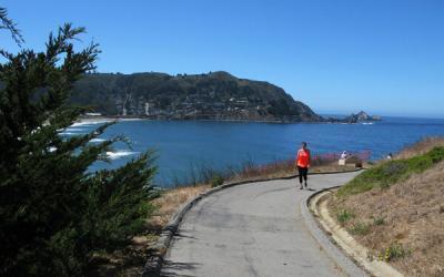 Pacifica Coastal Trail in Northern California