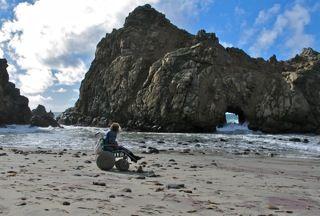 CA Coast: Pfeiffer Beach at Big Sur Access