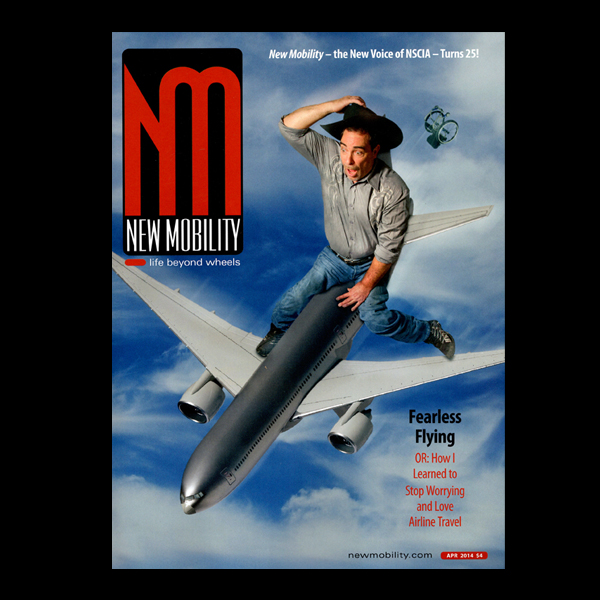 New Mobility Magazine: Fearless Flying