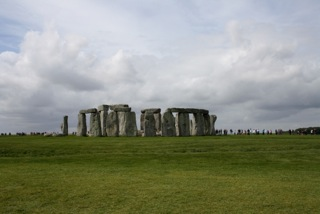 Access at Stonehenge in the UK of Great Britain