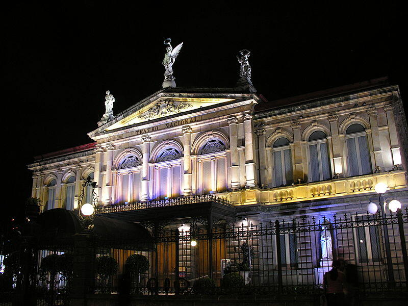The National Theater of Costa Rica
