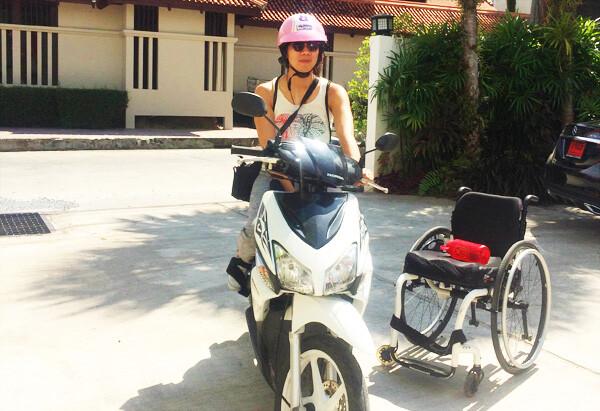 Thailand Travel: Manual Wheelchair Access