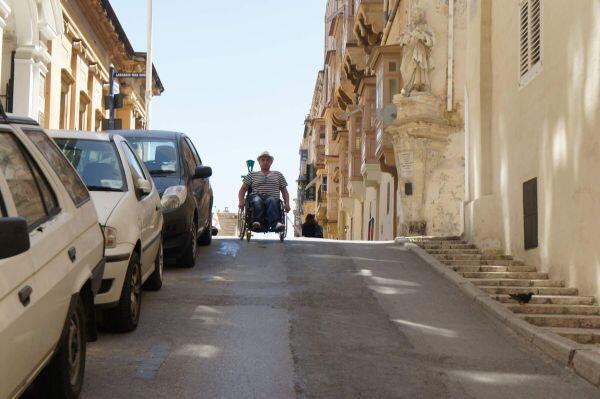 Malta Island off Italy: Wheelchair Travel Tips