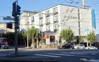 San Francisco: Laurel Inn @ Pacific Heights