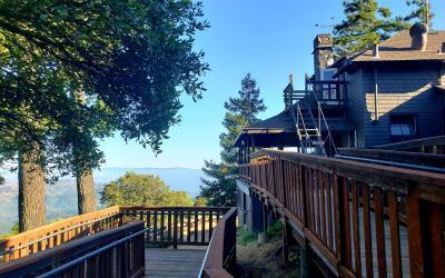 West Point Inn Cabins on Mt. Tamalpais