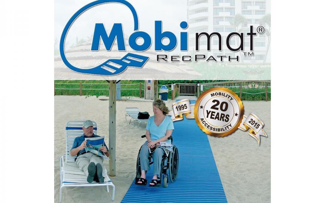 Mobi-Mat ADA Beach Access
