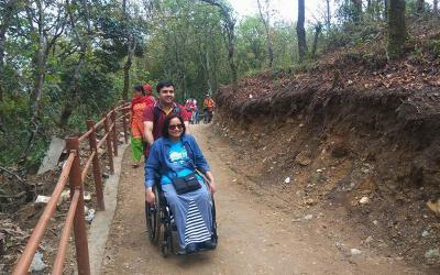 Nepal Accessible Trail Trekking