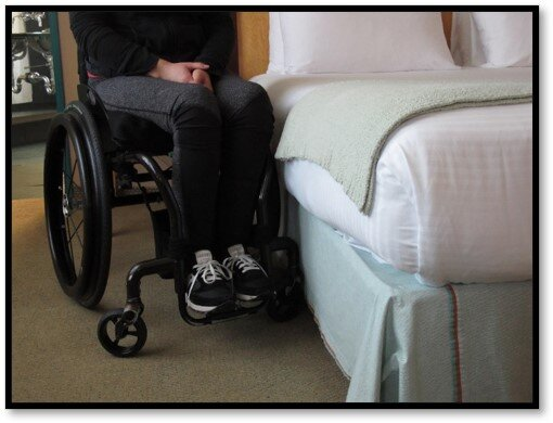 Staying Overnight + Wheelchair Access